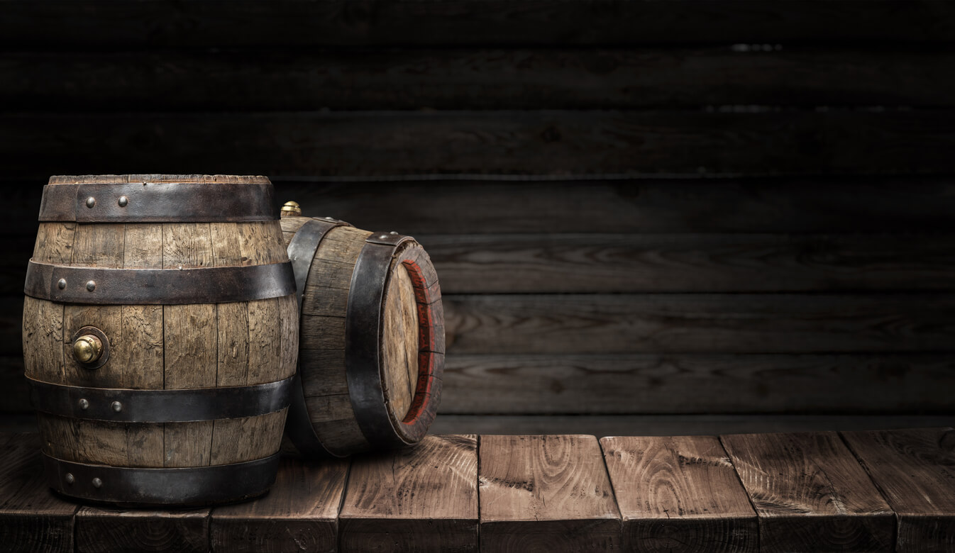 Oak Barrel for Brandy